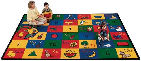 Blocks Of Fun Carpets For Kids