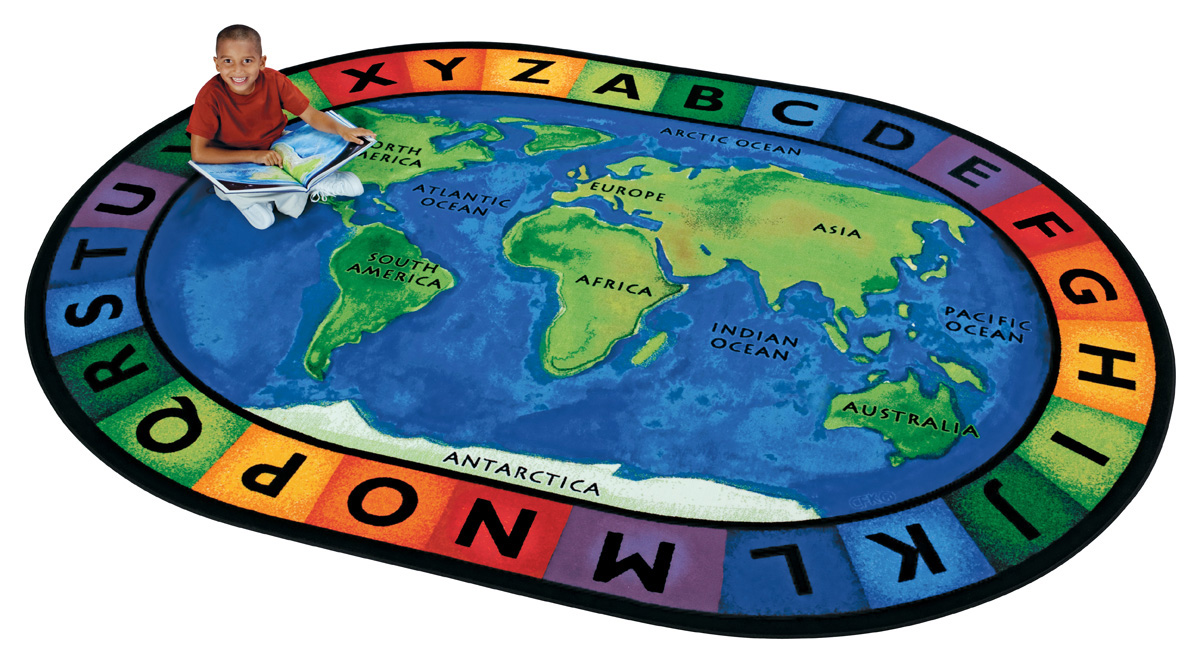 Circletime Around the World - Carpets For Kids