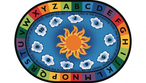 Isaiah 40 28 Circletime Rug Carpets For Kids