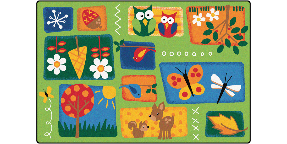 Attractive Natureu0027s Toddler Rug   Carpets For Kids