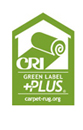 CRI Green Label Plus certification logo